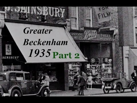 BECKENHAM HISTORY - Greater Beckenham - 1935 - Part 2.