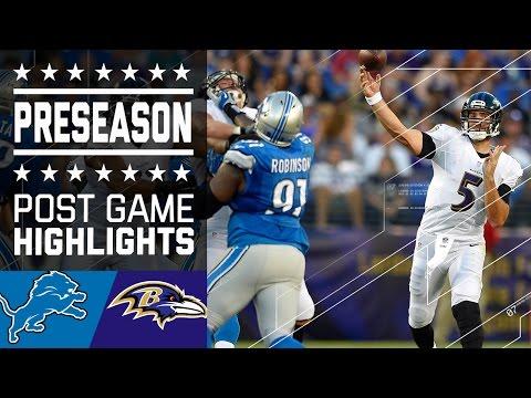 Lions vs. Ravens | Post Game Highlights | NFL