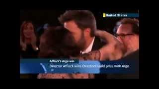 Oscar 2013 - Ben Affleck wins Directors Guild