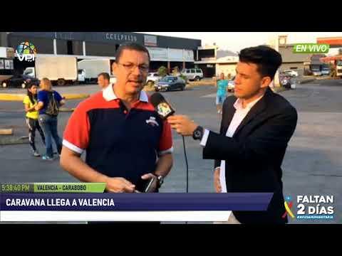 Venezuela- Caravana de diputados llegó a la ciudad de Valencia - VPItv