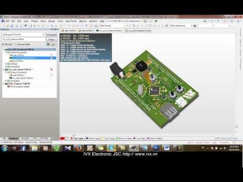 Altium Designer Bài 1: Hướng dẫn vẽ sơ đồ nguyên lý