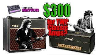 Two Classic Guitar Amps for under $300? (Vox AC30 & Marshall Plexi Super Lead 1959) Unboxing & Demo