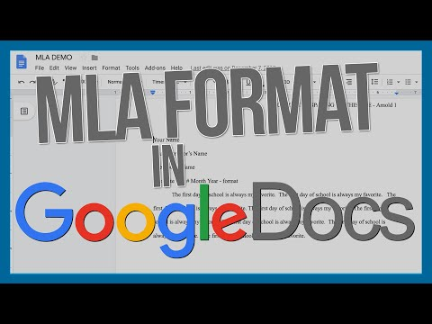 How to get MLA format in Google Docs with Works Cited instructions