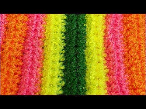 Подборка вязаных ковриков со схемами для вашего
