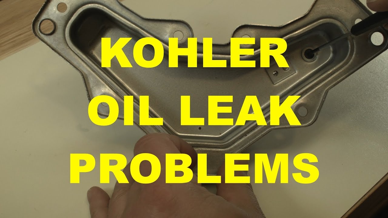 Kohler Courage Breather Reed Causing Oil Leak Problems