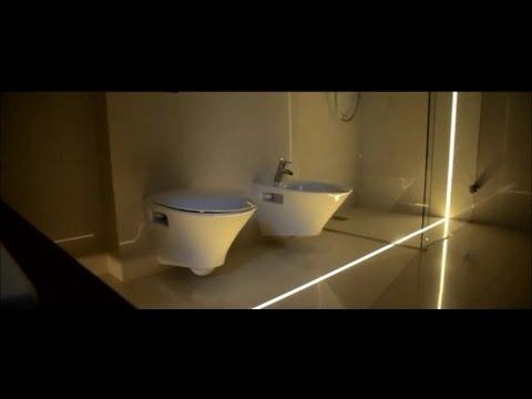Профильные светодиодные светильники для пола и стены