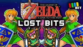 The Legend of Zelda: A Link to the Past LOST BITS | Unused Content & Debug Mode [TetraBitGaming]