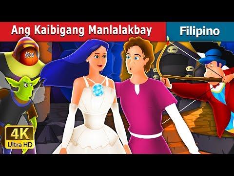 Ang Kaibigang Manlalakbay | The Travelling Companion Story in Filipino | Filipino Fairy Tales