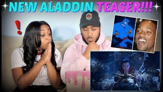 """Aladdin"" Teaser Trailer #1 REACTION!!!"