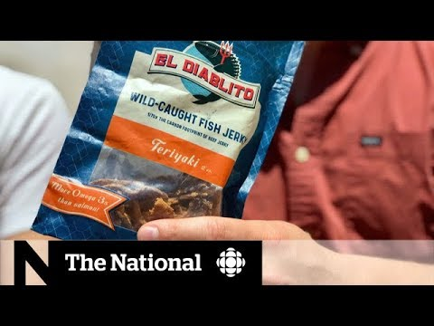 Selling Mexico's 'devil fish' snacks to Canadians