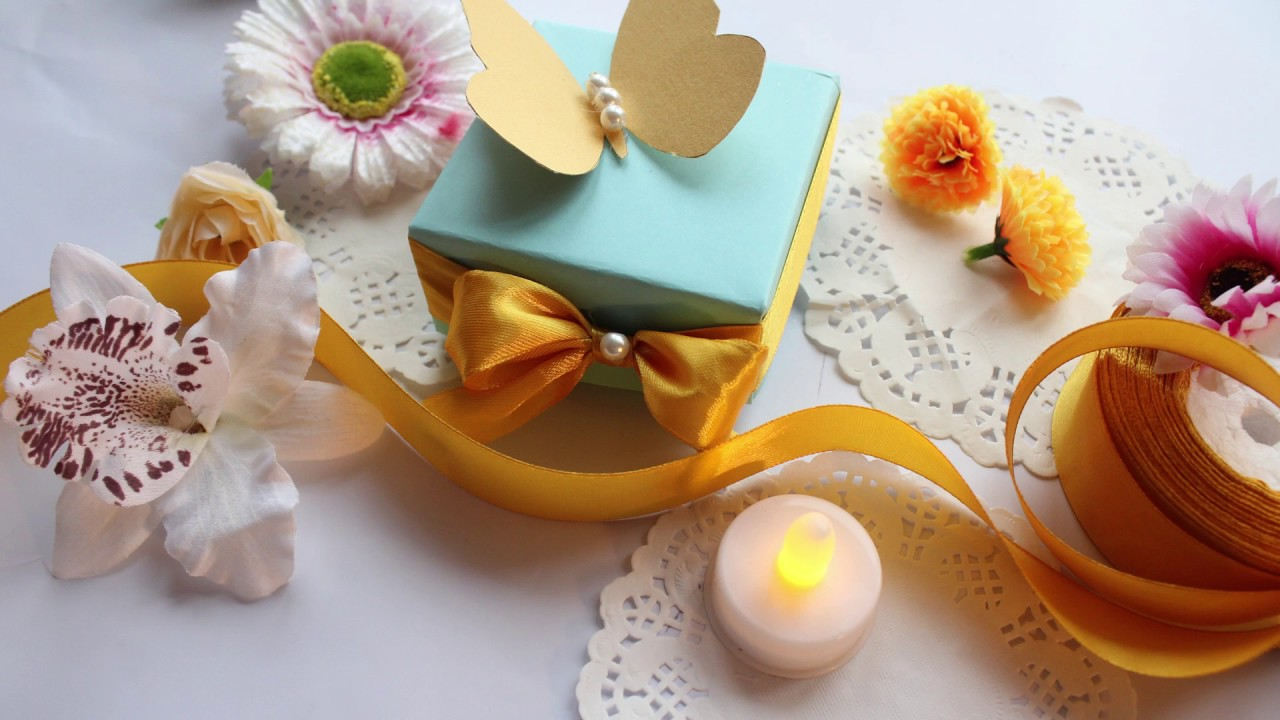 How To Make Easy Cheap Wedding Favor Diy Ideas Youtube