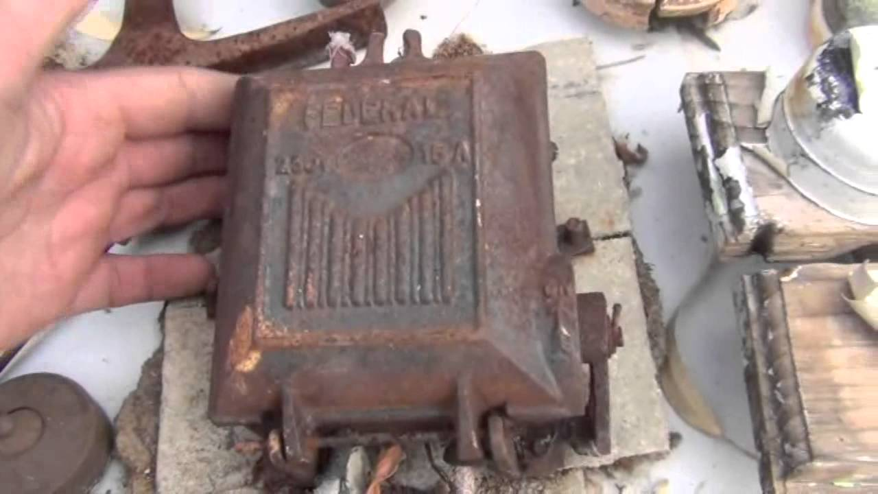 Beautiful antique australian federal cast iron fuse boxes for Classic house voices