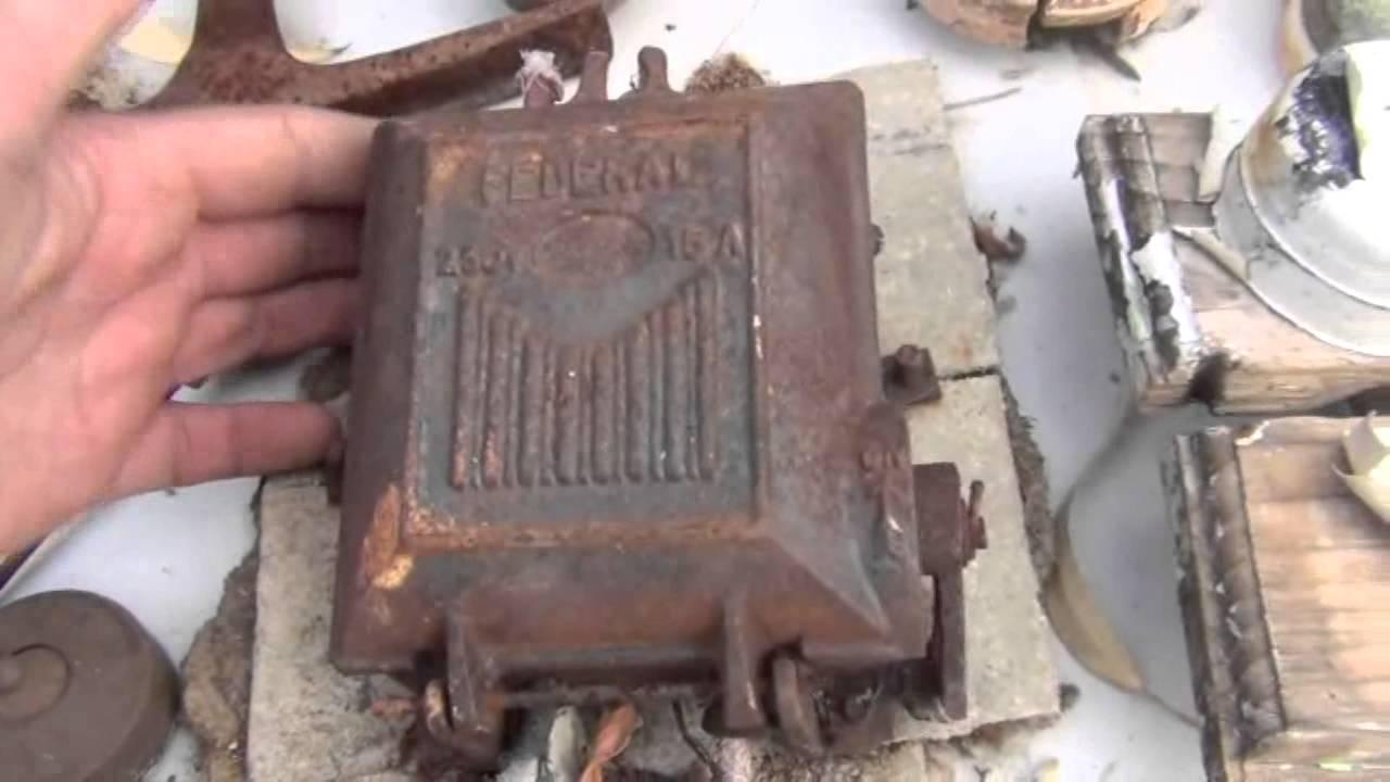 beautiful antique australian federal cast iron fuse boxes art deco stye for yt user hdxfh  [ 1280 x 720 Pixel ]