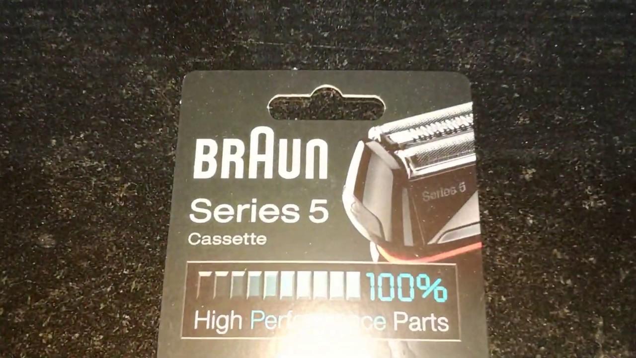 Braun 52 B  Series 5 Cassette Scherteil