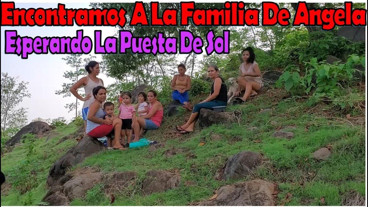 -Encontramos A La Familia De Angela Esperando La Puesta De Sol🤗|Nelly Se La Hizo A David-P3