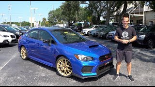 Should I trade in my Focus RS for a 2018 Subaru WRX STI Type RA?