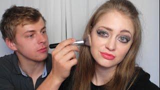 Мой парень делает мне макияж!(, 2015-07-24T14:48:36.000Z)