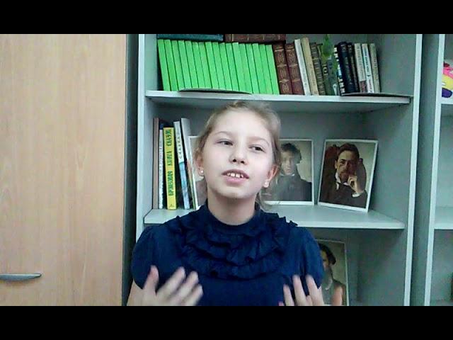 Изображение предпросмотра прочтения – КсенияРешетникова читает произведение «Мирок» М.И.Цветаевой