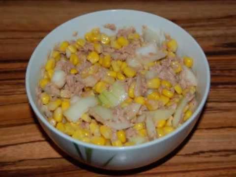 Salat bohnen mais feta