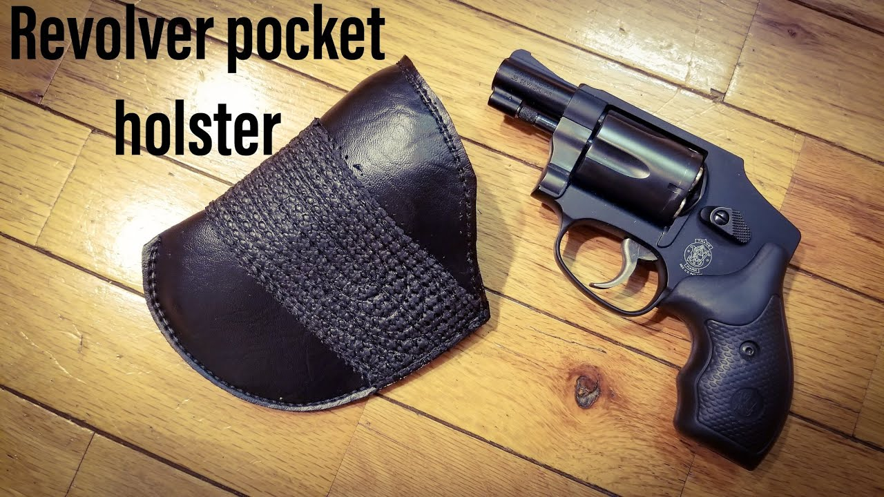 Mika's Pocket Holster for the J-Frame 38 special