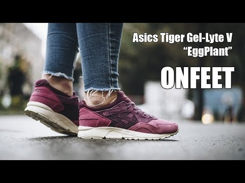 the latest 16e73 253f2 ONFEET Asics Gel-Lyte V EggPlant | sneakers.by - YouTube