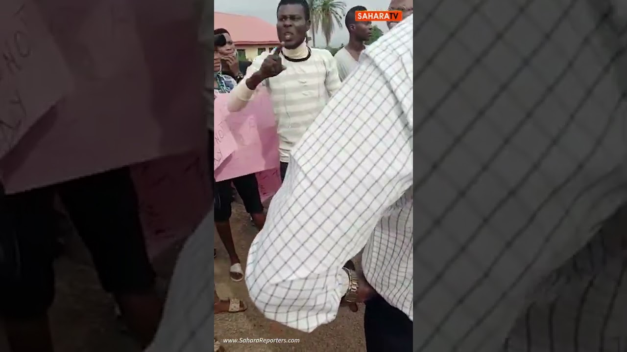 Students Of Adeyemi College Of Education Protest, Vow To Resist Hike In Fees