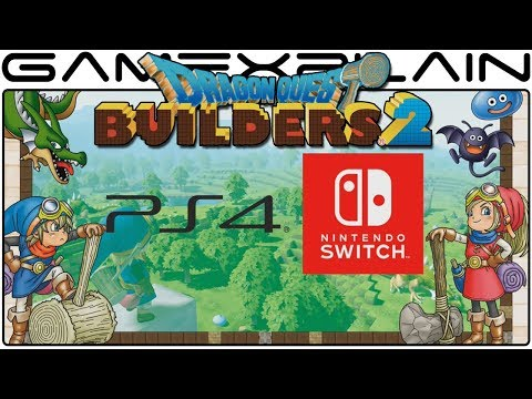 Dragon Quest Builders 2 Announced for Switch & PS4