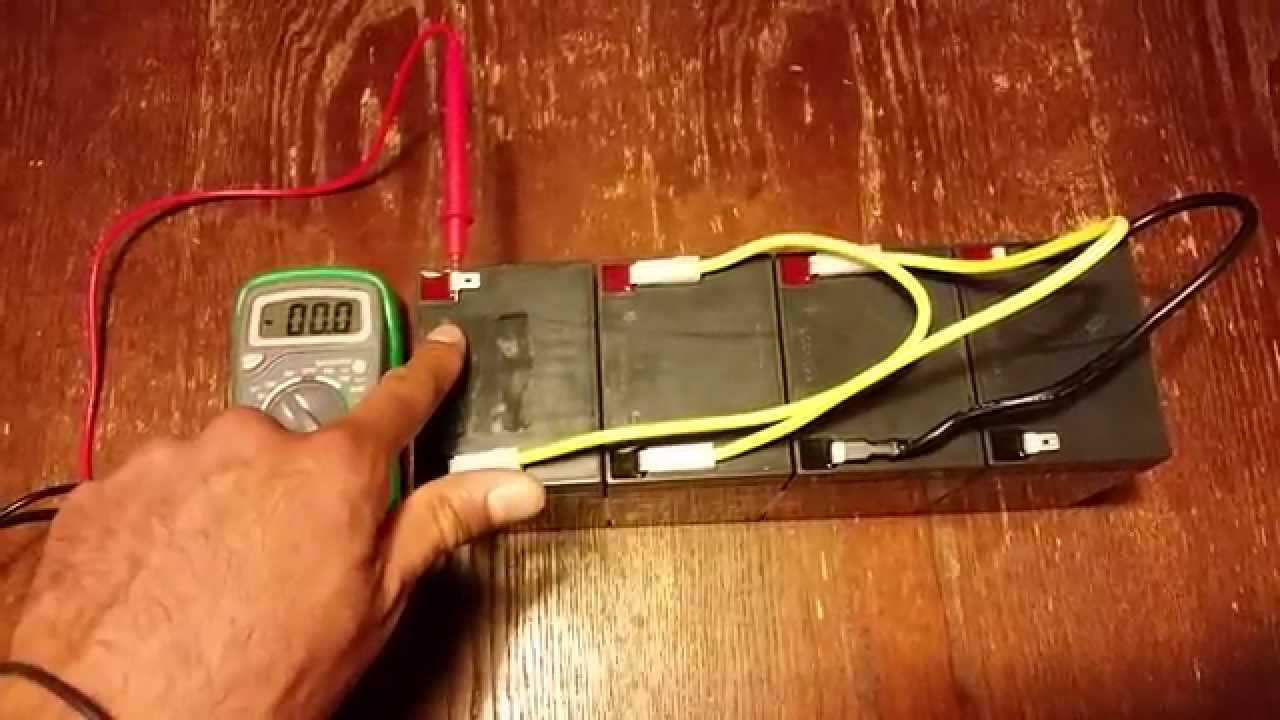 how to wire in an electric bike battery pack series youtube rh youtube com SLA Big Batteries 12 VDC SLA Battery 243215