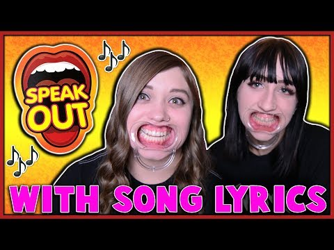 """PLAYING """"SPEAK OUT"""" WITH SONG LYRICS...WHILE GETTING TIPSY"""