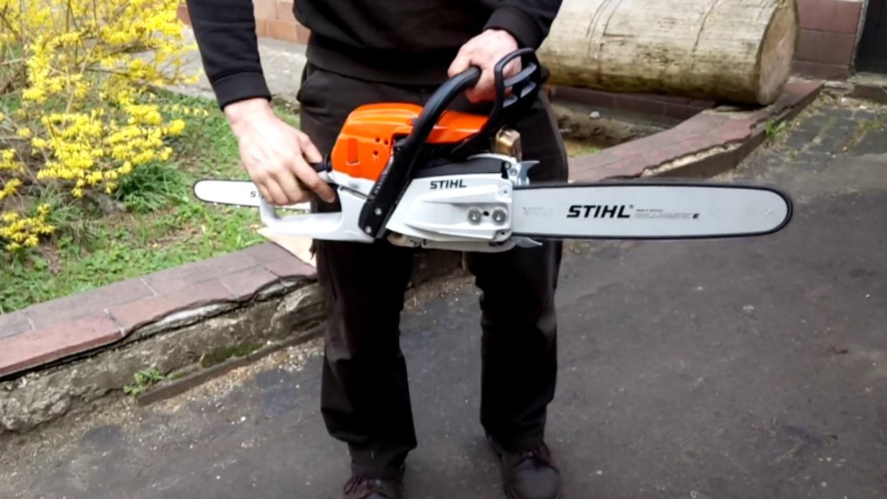 The chainsaw stihl ms 261 c m first start youtube - Stihl ms 261 ...