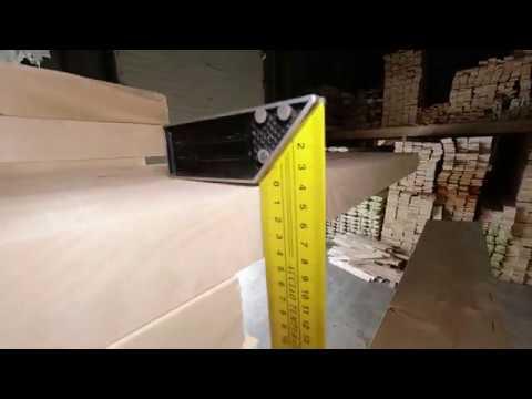 Обзор партии доски строганной сухой 240х45х6000мм