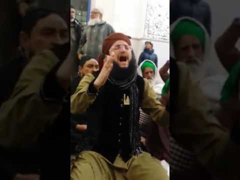 Hafiz Tahir Qadri Manqabat at Darbar e Ghous Ul Azam