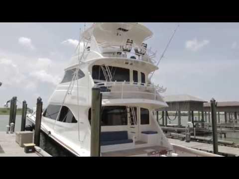2010 82' Viking Skybridge Yacht For Sale