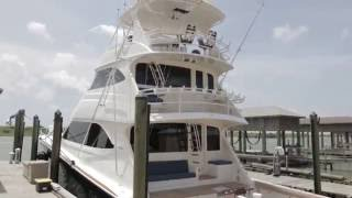 2010 82' Viking Skybridge Yacht For Sale