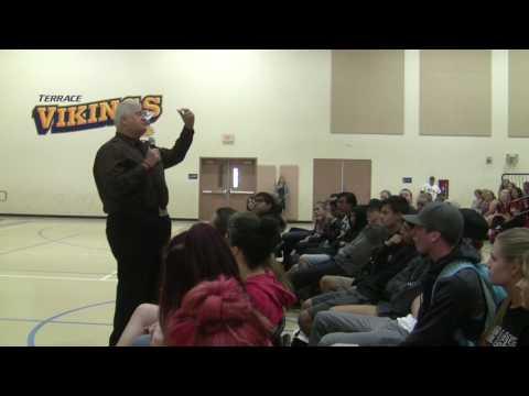 Michael Pritchard anti bullying standup at Clear Lake High School April 21, 2017
