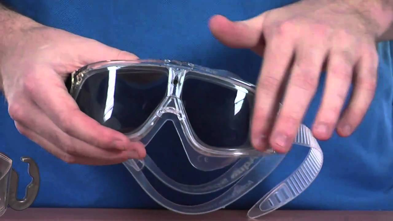 7f9e8bc33f8 Aqua Sphere Seal Goggle - Tinted Lens - www.simplyswim.com - YouTube