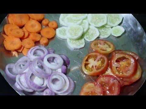 Vegetable salad// వెయిట్ లాస్ అవ్వాలి అనుకున్న వాళ్లు ఈ