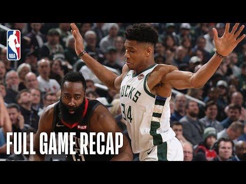 ROCKETS vs BUCKS | Giannis Antetokounmpo & James Harden Face Off In Milwaukee | March 26, 2019