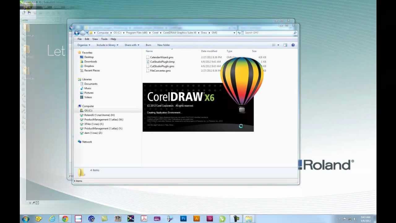 Installing CutStudio Plugin in CorelDraw