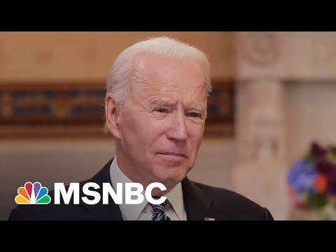 Biden Hopes For Bipartisan Agreement In Infrastructure Meeting