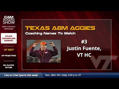 College Football Coaching Hot Board: Tennessee, Texas A&M, and Nebraska