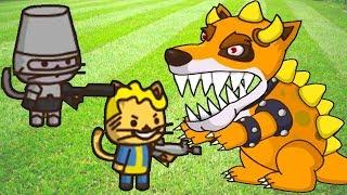 УДАРНЫЙ ОТРЯД КОТЯТ - Foxbazer - Игры только для детей!