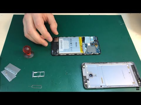Meizu M5s - разборка и замена дисплея / Disassembly And Replacement Of The Display