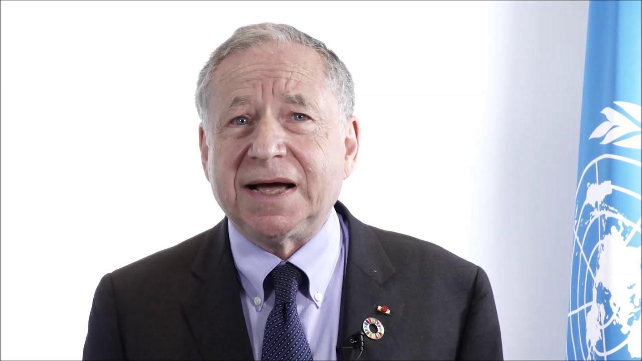 Jean Todt  - video nagovor v podporo VIZIJI NIČ (SLO podnapisi)