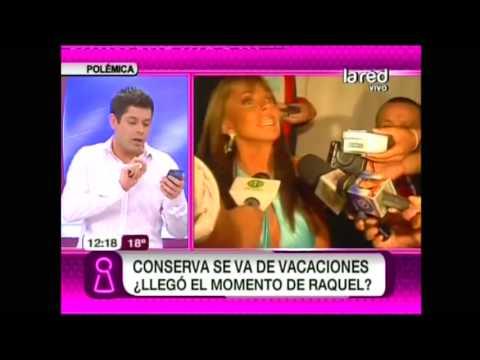 ¿Al fin llegó el momento de Raquel Argandoña en TVN?
