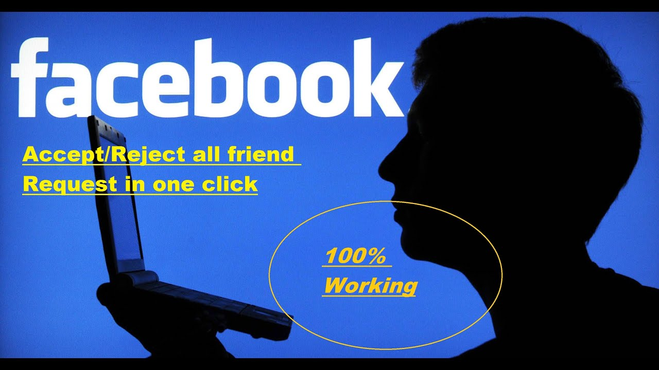 How to Accept all friend Request in a facebook at one Click