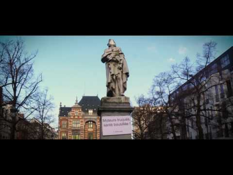 Citizens action to demand clean air in Brussels (18/02/2017) - by BruxselAIR