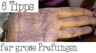 6 Tipps für schriftliche Prüfungen (Abi & Co.)