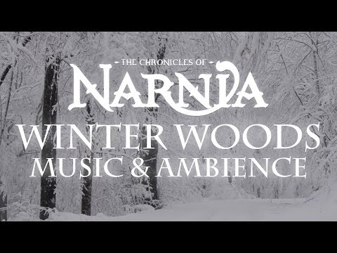 Chronicles of Narnia | Winter Woods Music & Ambience - Relaxing Music with Sounds of Winter