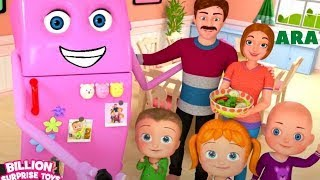 रेफ्रिजरेटर गीत | जॉनी जॉनी हाँ पापा | अरब आश्चर्य के खिलौने | बच्चों के लिए गाने